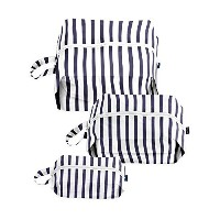 BAGGU 3D Zip Bag - Sailor Stripe Travel and Organization Set by BAGGU