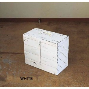 COLETTE ツールBOX MINT_WHITE シノワズリミックス/家具/小物入れ/ボックス カフェ/雑貨 sp-drdt1250mt-wh WHITE