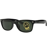 レイバン Ray Ban サングラス RB2132F 901 NEW WAYFARER BLACKGREEN(G-15 XLT)