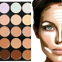 Boolavard®/™ Fashionable Concealer Cream Camouflage Palette / Cover Makeup in 15 Colours