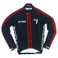 GSG G7 Passione LS Jersey Black/Red