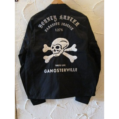★送料無料★GANGSTERVILLExBOUNTY HUNTER/127% BxG JKT BLACK