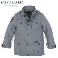 POLO by Ralph Lauren Boys Motorcycle Quilted Jacket USラルフローレン ボーイズサイズのキルティングジャケット SENIOR TT