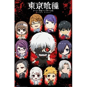 """Tokyo Ghoul Poster """"Chibi Characters"""" (61cm x 91,5cm)"""
