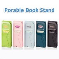 Portable Book Stand - IPad Galaxy Tab Tablet PC mounted book books reading desk
