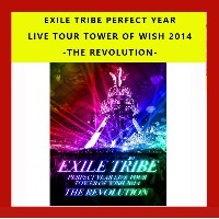 EXILE TRIBE PERFECT YEAR LIVE TOUR TOWER OF WISH 2014 -THE REVOLUTION- DVD-BOX 5枚組