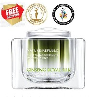NATURE REPUBLIC Ginseng Royal Silk Watery Cream 60 ml/ Whitening and Wrinkle Care/Free Shipping