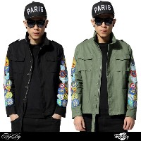 NO:13 OW coat mens fashion sun protective cloth  ?xxxibgdrgn? G-dragon wear outer jacket Hoodie for...