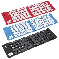 Mini Wireless Bluetooth 3.0 Folding Folded Keyboard for iPhone iPad iPod Touch iOS Google Nexus...