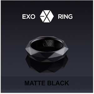 EXO EXO-K EXO-M - Official Goods : Ring (Matte Black) + Gift