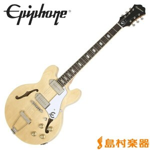 Epiphone Casino Coupe Natural カジノクーペ フルアコ エレキギター 【エピフォン】