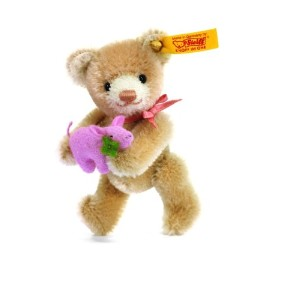 Steiff 039836 シュタイフ ぬいぐるみ テディベア 9cm Mini Teddy Bear Lucky Charm Jointed in Gift Packaging (Beige)