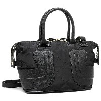シーバイクロエ バッグ SEE BY CHLOE 9S7675 P270 001 KAY NYLON SMALL HANDBAG WITH CROSSBODY 2WAYバッグ BLACK