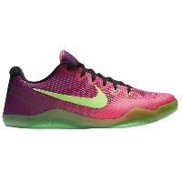 "Nike Kobe 11 Low ""Mambacurial"" メンズ Pink Flash/Action Green/Red Plum ナイキ バッシュ コービー11 Kobe Bryant..."