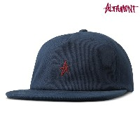 【Altamont】COLLAPSE DECONSTRUCTED CAP カラー:navy 【オルタモント】【スケートボード】【キャップ/帽子】