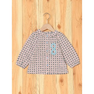 【SALE/40%OFF】BOO HOMES/BACK ALLEY/Natural Boo ブラウス キッズ ブーフーウー カットソー【RBA_S】【RBA_E】