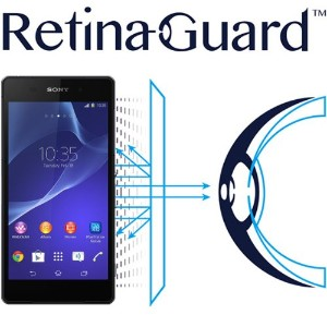RetinaGuard Sony  Xperia  Z2 ブルーライト90%カット保護フィルム