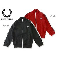 FRED PERRY KIDS LAUREL WREATH TAPE TRACK JACKET■SY6231-MG【キッズ トップス 長袖 トラックジャケット 子供 子ども フレッドペリー 】...