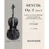 Sevcik Cello Studies: School Of Bowing Technique Part 6. Partitions pour Violoncelle