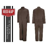 REDKAP(レッドキャップ)TWILL ACTION BACK COVERALL【BROWN】カバーオール ブラウン