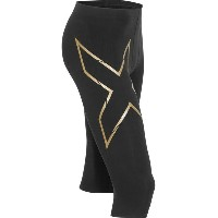 2XU 2XU メンズ サイクリング ウェア【Elite MCS Thermal Compression 3/4 Tight】Black/Gold