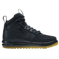 NIKE LUNAR FORCE 1 DUCKBOOTSメンズ Black/Metallic Silver/Anthracite/Black ナイキ ルナフォース1 ダックブーツ