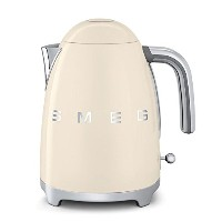 Smeg KLF01CRUS 50's Retro Style Aesthetic Electric Kettle, Cream by Smeg