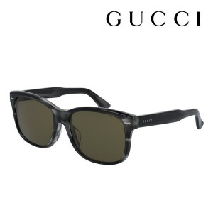 【GUCCI】 グッチ サングラス 正規販売店 アレッサンドロ・ミケーレデザイン GG0050SA 004 DECORNESS Made In Italy DEAL スクエア