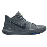 "Nike Kyrie 3 ""Cool Grey"" メンズ Cool Grey/Anthracite/Polarized Blue/Black ナイキ カイリー3 Kyrie Irving カイリー..."
