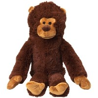 Doggles 2-Liter Monkey Dog Toy, Brown by Doggles [並行輸入品]