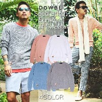 DOWBL/ダブル/Seed Stitch Summer Knit Sweater【全4色】