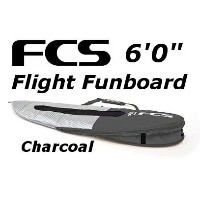 "FCS 3DxFit Flight Funboard Cover 6'0"" エフシーエス ショートボード フィッシュ レトロ ハードケース"