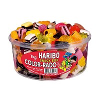 HARIBO (ハリボー) SNACK BOX COLOR-RADO 1kg