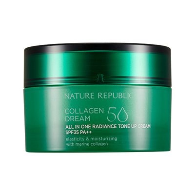 NATURE REPUBLIC Collagen Dream 50 All-In-One Radiance Tone Up Cream(SPF35PA++) ネイチャーリパブリック [韓国コスメ ]...