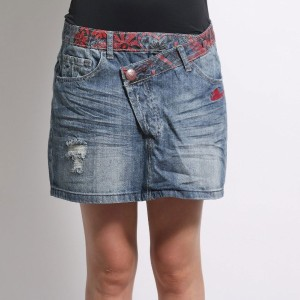 【SALE 49%OFF】デシグアル Desigual FAL_ONEPRINT (DENIM MEDIUM WASH)