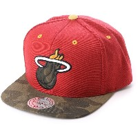 【SALE 40%OFF】ミッチェル アンド ネス MITCHEL & NESS atmos CAMO INFILL SNAPBACK (RED)