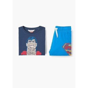 【SALE 40%OFF】パジャマ PACK . SUPERMAN  (ネイビー)