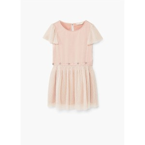 【SALE 60%OFF】ワンピース .-- CRISTAL-R (ミディアムピンク) 子供・キッズ MANGO