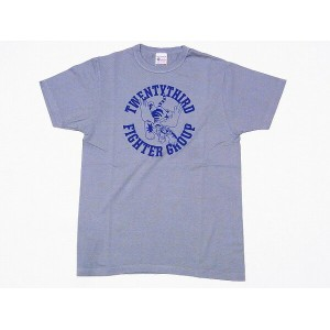 Buzz Rickson's[バズリクソンズ] Tシャツ BR77610 23rd FIGHTER GROUP (S.グリーン)