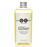(q.c. naturals) Timmy s Toner  100% Organic Facial Toner  Apple Cider Vinegar  Witch Hazel  Lemon...