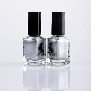 (SaiDeng) SaiDeng Charming Silver Mirror Effect Nail Polish Varnish Nail Art 15ml