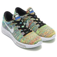 NIKE LUNAR EPIC LOW FLYKNIT(ナイキ ルナ エピック ロー フライニット)BLACK/WHITE-RACER BLUE-TOTAL CRIMSON-VOLT【メンズ...