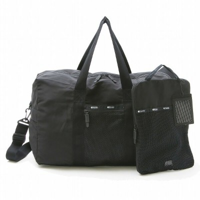 LeSportsac GLOBAL WEEKENDER 2521 C063 TRUE BLACK T グローバル ウィークエンダー ボストン バッグ 旅行用 合宿 カバン レスポートサック 【新品...