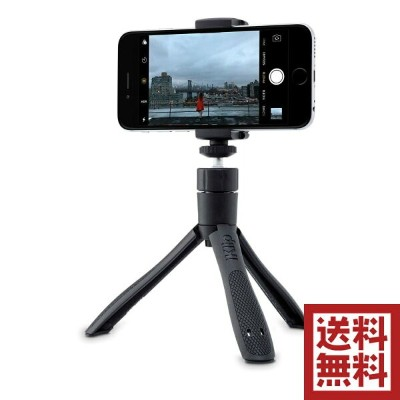 IK Multimedia iKlip Grip 'Selfie' Stick and Stand Bluetoothシャッターリモートコントロール