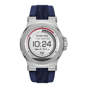メンズ MICHAEL KORS ACCESS Dylan Touchscreen Smartwatch スマートウォッチ シルバー