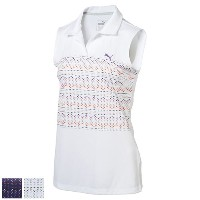 Puma Ladies Sleeveless 18 Hole Golf Polo (#572357)【ゴルフ レディース>トップス】