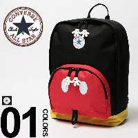 CONVERSE (コンバース) ディズニー ミッキーマウス リュック バッグ バックパック ヒップモチーフ CONVERSE MICKEY MOUSE HIPS MOTIF DAY PACK...