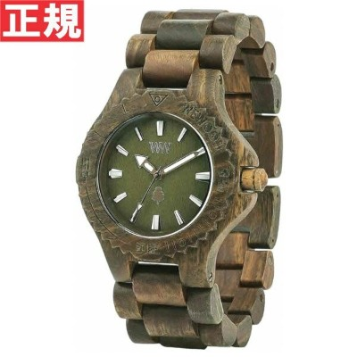 WEWOOD ウィーウッド 腕時計 木製 DATE ARMY 9818026