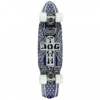 Dogtown Double Kick Sidecut Bandana Skateboard [並行輸入品]
