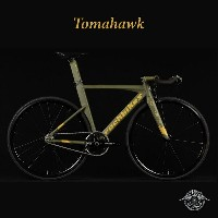 TOMAHAWK(トマホーク)【COLOR:NATO GREEN】ROCKBIKES(ロックバイクス)ブルホーンシングルスピードバイク【送料プランC】 【完全組立】【店頭受取対応商品】